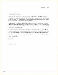 Letter Of Recommendation Best Of Letter Of Recommendation For