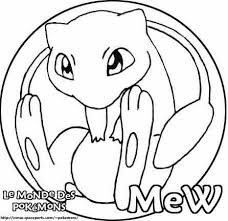 Small Picture Pokemon Coloring Pages Mew Pics Coloring Pokemon Coloring Pages