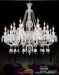 Hotel Hall Culb Kristall Kronleuchter Beleuchtung Elegante Beleuchtung Moderne Eingangsbeleuchtung Kronleuchter Villa Wohnzimmer Führte Kristall