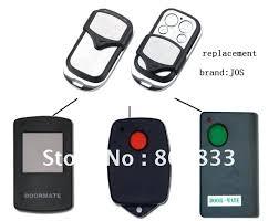 remote controls for garage door replacement remote control door mate radio control garage door remote opener