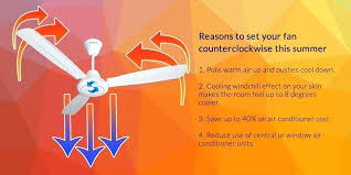 ceiling fan direction during the winter rotation summer harbor breeze reverse switch replacement counterclockwise for cool