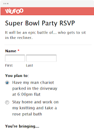 Party Rsvp Template Online Invitation Templates Wufoo