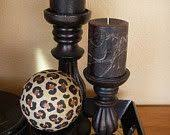 Leopard Decorative Balls Safari Animal Print Classic Table Vase I'm NOT into this type of 33