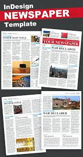 School Newspaper Template Free Download Templates For