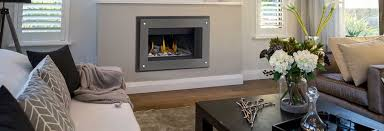 add style symmetry and focus to your home with an indoor electric fireplace