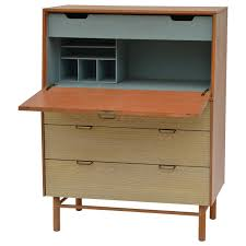 pristine mid century secretary cabinet by raymond loewy for mengel for