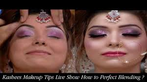 kashees makeup tip live show how to perfect blending kashee s beauty parlor