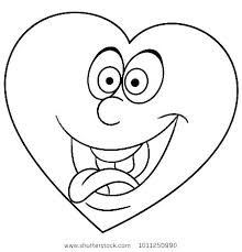 Teddy Bear With Heart Coloring Pages Book Page Holding A