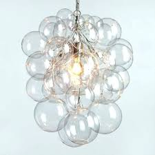 bubble light interior lights chandelier aspiration glass new regarding pertaining to from replacement bulbs canada bubble light