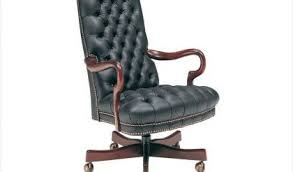 tufted leather swivel office chair 806 st classic leather by size handphone