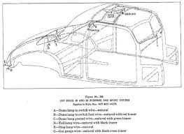 buickcar wiring diagram page 2 body wiring for 1937 buick 40 and 60 business and sport coupes