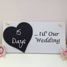 till our wedding countdown chalkboard Wedding Countdown Photos Wedding Countdown Photos #14 wedding countdown images