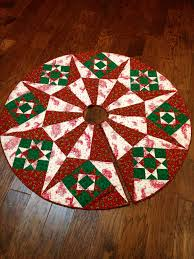 Quilted Christmas Tree Skirt Pattern Cool Design Inspiration
