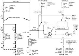 1994 ford explorer defogger circuit diagram