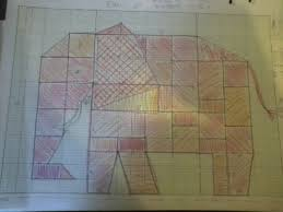 Elephant Pattern - Quilters Club of America & Here is the pattern I drew out last night as I watched TV. It is based on  an image I found online. It is very piece-y (is that a word), ... Adamdwight.com