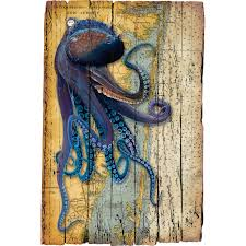 Octopus Chart Trap - Eddie Forbes Art