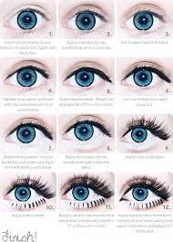 cute simple makeup ideas for blue eyes image