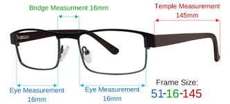 Eyeglass Frame Size Chart Metal Full Rim Small Aviator Pilot Eyeglass Frames Men