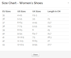 Womens Size Chart Shoes Ecco Shoes Nz Official Store Buy Shoes Online Ecco Shoes Nz