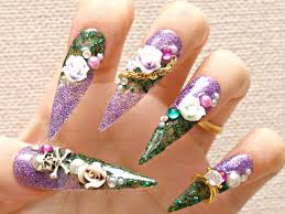 20 Best Japanese Nail Art for Long Nails 2015/16