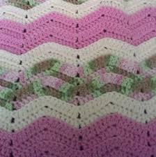 Double Crochet Ripple Afghan Pattern Delectable Ripple Crochet Baby Afghan Pattern