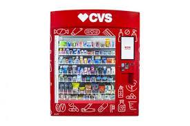 Vending Machine Depth Classy CVS Introducing Retail Vending Machines Store Brands
