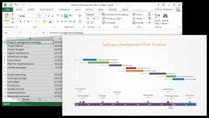 how to create a project budget office timeline using excel for project management