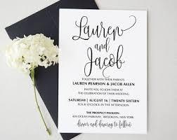 Wedding Invitatiins Wedding Invitation Kits Etsy Ca