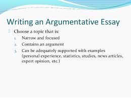 english expository vs argumentative 6 writing an argumentative essay