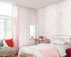 Stanze Da Letto Ragazze : Ispirazione rosa bianco ragazze camera da letto carta parati