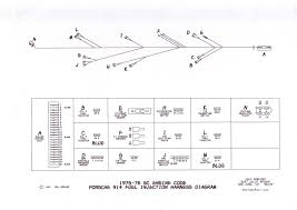 porsche starter wiring diagram porsche wiring diagrams replacement porsche 914 wiring harnesses