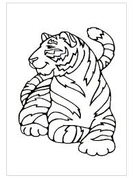 Small Picture Tiger coloring pages ideas for preschool Preschool Crafts