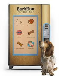 Dog Treat Vending Machine Magnificent BarkBox On Pratt Portfolios