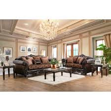 brown leather sofa sets.  Leather Dolton Configurable Living Room Set Throughout Brown Leather Sofa Sets M