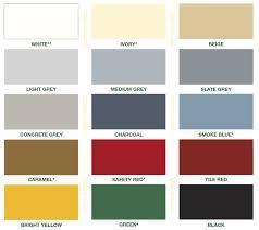 Tnemec Color Chart Dur A Gard Dura Cote