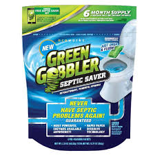 green gobbler septic saver enzyme pacs
