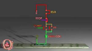 dol starter control circuit diagram animation explain dol starter control circuit diagram animation explain