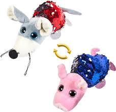 <b>Мягкая игрушка ABtoys</b> Перевертыши Свинка Мышка 8 см, M5024