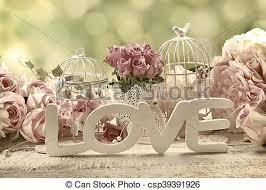 vintage love background. Contemporary Vintage Romantic Vintage Love Background With Flowers  Csp39391926 With Vintage Love Background