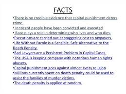 conclusion of death penalty essay pro speech presentation  mastery over the time of the other the death penalty