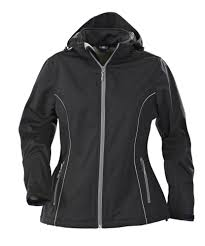 <b>Куртка софтшелл женская HANG</b> GLIDING, черная – АртСтория