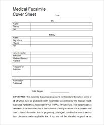 10 Medical Fax Cover Sheet Word Pdf Free Premium