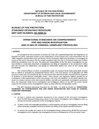 Fire Incident Report Bfp Writing Fill Online Printable