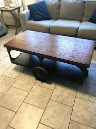 industrial style coffee table industrial style coffee table ikea