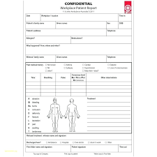 Patient Incident Report Form Template Reporting Templates Medical