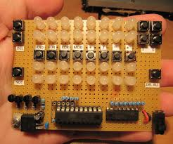 led binary calculator 6 steps pictures