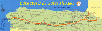 pilgrim's progress by john f kerr a pilgrimage on the camino de Camino De Santiago Map camino de santiago map camino de santiago mapa