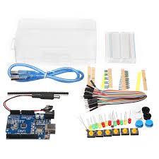 Starter Kit for Arduino <b>Uno R3</b> Breadboard and holder Step Motor ...
