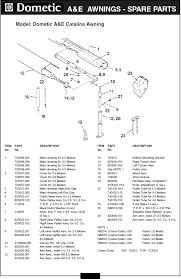 full image for oil lamp parts diagram dometic rv awning parts diagram