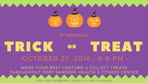 3rd annual trick or treat 5 2 fort sanders health and fitness center
